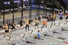 Yesterday I went into the Entertainment Centre to see the CrossFit Games 2013. Incredible fitness