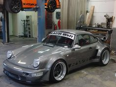 rwb europe | Building the RWB RUF BTR3