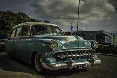 Classic Chevrolet Woodie in Helsinki, Finland