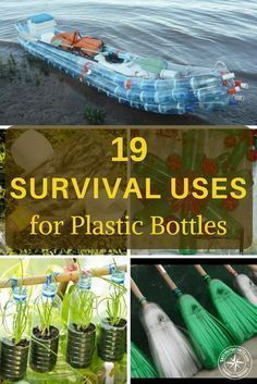19 Survival Uses for Plastic Bottles - I see things like zero electricity refrigeration and get pretty excited about plastic bottles. They are pretty impressive uses. So much of survival is about just being able to make the most of the resources around you. #SurvivalFood