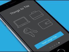 iOS app on boarding by Ramotion.  #gif #animation #app, #appdesign, #ios9, #ios, #flatdesign, #android, #ui, #userinterface, #design, #designer, #iosapp, #iphone, #iphoneapp, #concept, #ux #GraphicGang
