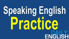 Speaking English Practice Conversation | Questions and Answers English C...