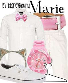 Marie from the Aristocats inspired outfit