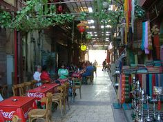 Coffee shop in Luxor souk