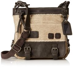 Amazon.com: Sherpani Willow Medium Cross Body Bag, French Roast, One Size: Clothing