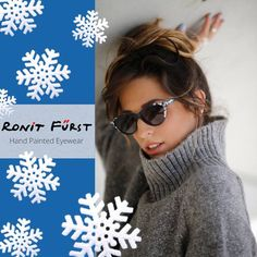 6a5d7490eb Hand painted eyewear from Israel! Smart Specs Optical · Ronit Furst