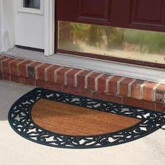 Half Round Coir Doormat $49.99