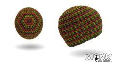 Mütze häkeln - Moss Stitch Beanie No. 2 - Tweed Style - YouTube