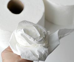 toilet paper bouquet funny bridal shower game