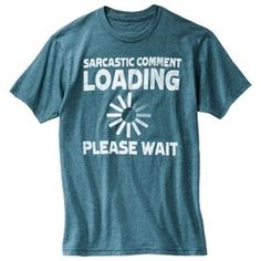 Sarcastic Comment Men's Graphic Tee - Baltic Tea... : Target Mobile