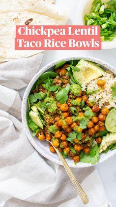 Vegan Dinner Recipes, Delicious Vegan Recipes, Veggie Recipes, Whole Food Recipes, Vegetarian Recipes, Healthy Recipes, Vegan Meals, Mexican Recipes, Rice Recipes