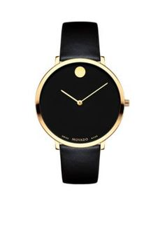 Movado Women's Women's Museum Dial 70Th Anniversary Special Edition Watch - Black - One Size