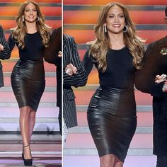 Screen Style: Jennifer Lopez Uses Leather to Accentuate Her Curves