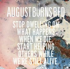 Artist : August Burns Red Song : Treatment Album : Rescue And Restore