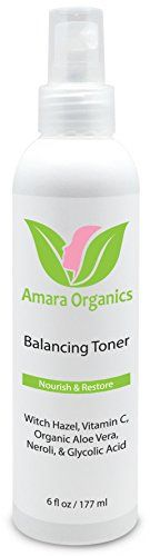 This 100% natural facial toner refreshes, hydrates, and balances skin's pH levels without stripping your skin or drying it out. Get the most out of your skin care regimen with a powerful base layer. This toner perfectly preps skin and increases the absorption of serums and... FULL ARTICLE @ http://www.sheamoistureproducts.com/store/amara-organics-facial-toner-with-witch-hazel-vitamin-c-6-fl-oz/?c=6717