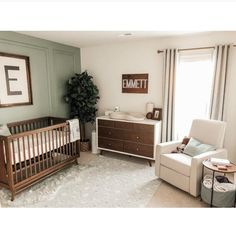 Baby Boy Nursery Room İdeas 399976010658330284 - 14 x Rectangle Name Sign Baby Boy Rooms, Baby Boy Nurseries, Baby Cribs, Baby Nursery Ideas For Boy, Simple Baby Nursery, Vintage Baby Boy Nursery, Baby Room Decor For Boys, Antique Nursery, Kids Rooms