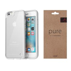 iPhone Plus Case Screen Protector Araree HuePlus Pure White Package for Apple Apple Iphone 6s Plus, 6s Plus Case, Red Apple, Pure White, Screen Protector, Packaging, Pure Products, Ebay, Film