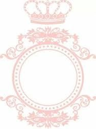 arte+convite+arabescos+coroa+rosa - Pesquisa Google