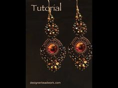 "Video Tutorial - Earrings ""Comparsita"" - YouTube"