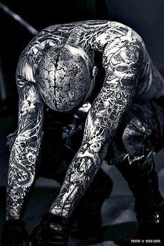 Zombie Boy one of my fave people Body Tattoos, Life Tattoos, Rick Genest, Trash Polka Tattoo, Danse Macabre, Boys Wallpaper, Cover Tattoo, Body Modifications, Body Mods