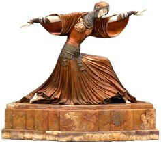 Demetre Chiparus - Art Déco - Sculpture