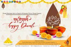 Team Prachin Art & Crafts Wishing You & Your Family A Prosperous Diwali.