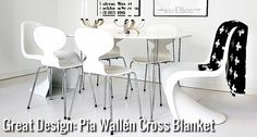 Great Design: Pia Wallén Cross Blanket | Nordic Days