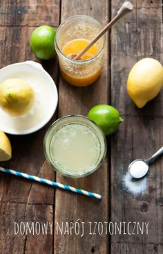 Odżywianie od kuchni: Przepis na: napój izotoniczny