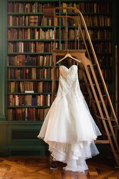 elegant ballgown wedding dress; photo: Amy Campbell Photography