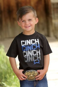 2c4d051b Cinch® Boys' Short Sleeve Crew Neck Tee - Toddler. This kid is SO ...