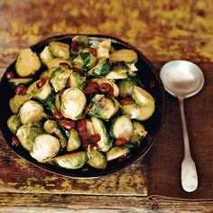 Brussels Sprouts with Cranberries Recipe - Michel Nischan | Food & Wine