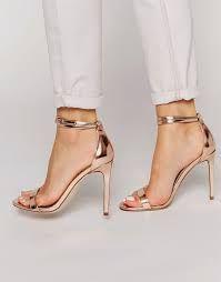 Resultado de imagen para zapatillas de xv años rosa palo