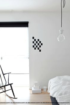 checker board-wall.