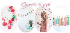 DIY guirnalda papel : vía La Garbatella