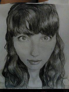 Our Art Corner - Self portrait (by nessakay99)