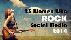 TopRank's 5th year of Women Who Rock Social Media (& our network map). We were thrilled to be a part of this!