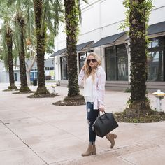 Pink Plaid Shirt For Fall With Nordstrom - The Fancy Things