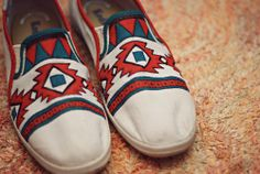 Happenstance • DIY Custom Canvas Shoes #diy ... | Things I Did When …