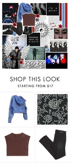 """""""i'm a goner, somebody catch my breathe."""" by slightdrizzle ❤ liked on Polyvore featuring GUESS, adidas Originals and Sebastian Professional"""