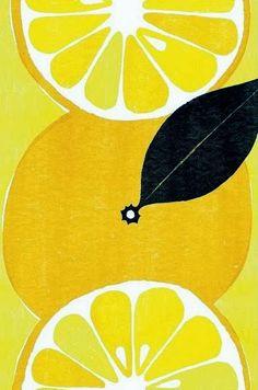 Lemon Painting  ~ Mary Wald's Place -  the art room plant: Yamauchi Kazuaki II