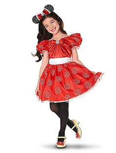 My little girl Will for sure be in this one year. w Minnie Mouse Costume for Kids #Halloween