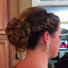 Hair from prom (: