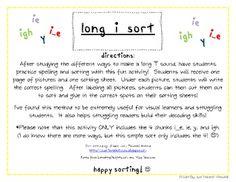 """long """"i"""" sort"""