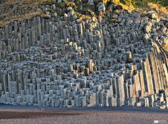 Basalt columns at Vík í Mýrdal - Daniel Wildi