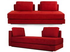 Niana Sofa/Daybed-Red