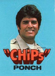 eric estrada chips   ... My first celebrity crush.... haha.