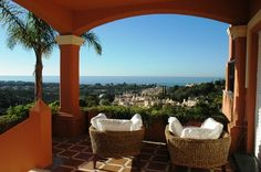 Nice and beautiful views from the Marbella Heighs...