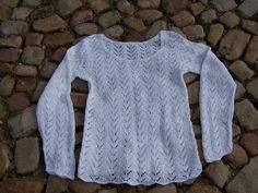 AUGUSTA, knitting pattern for a cotton jumper from domoras