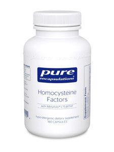 Pure Encapsulations- Homocysteine Factors 180 vegcaps