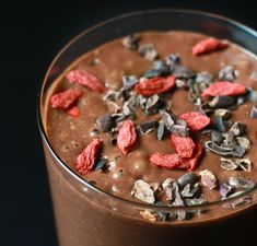 Raw Chocolate Superfood Smoothie